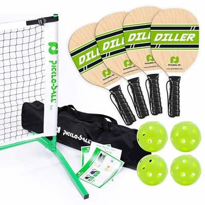 Pickleball Diller Tournament set review