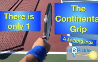 How to hold a pickleball paddle